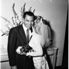 Jack Webb wedding, 1958