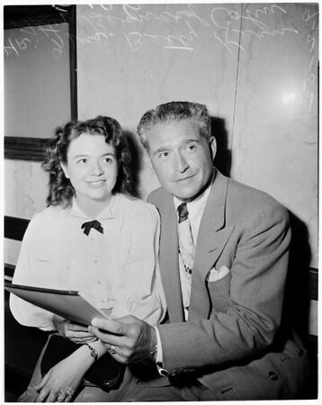Contempt and custody, 1952