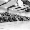 Tax protest meeting at Covina Union High School, 1957