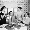 Bel Air Guild women planning brunch, 1958