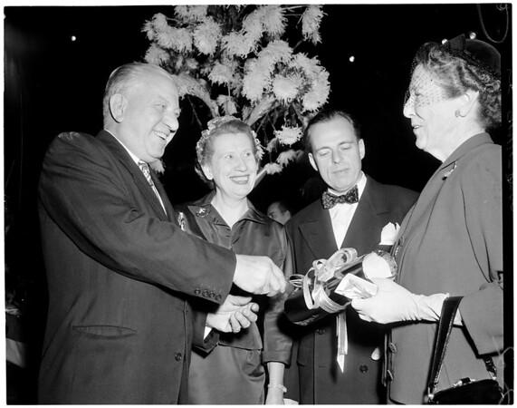 Oprea Guild luncheon, 1953