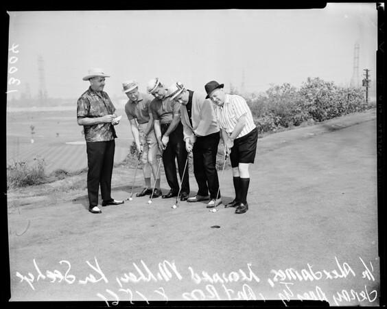 Apparel Club golf tournament, 1961