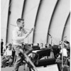 Hollywood Bowl rehearsals at Philharmonic, 1959