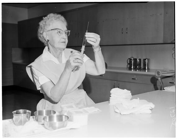 Volunteer worker feature (Orthopaedic Hospital), 1960