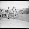 Track -- Relays workout, 1958
