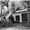 Fire in shops on Sunset Strip from 8700 through 8708, 1956