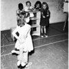 Dolls at juvenile hall, 1958