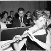 Annual concert of All City Orchestra at Hollywood High, 1957