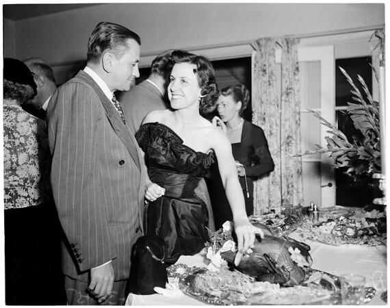 Lane -- McGinnis Party (November 30, 1951), 1951