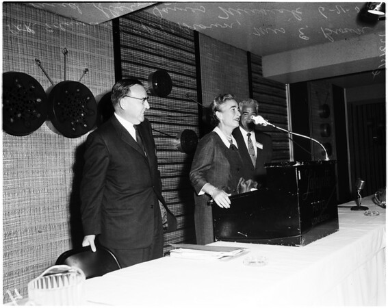 Law convention in Long Beach (Law Enforcement), 1958