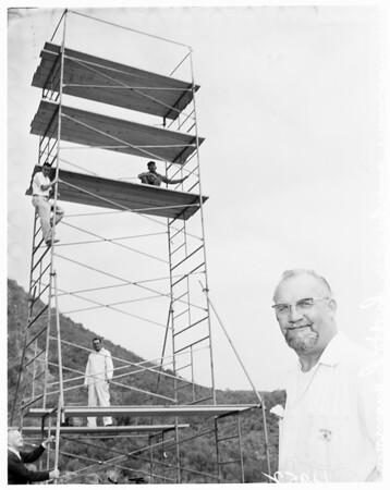 Rainmaker at Malibu Mt. Club, 1961