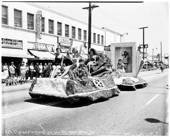 Wilmington parade (centennial), 1958