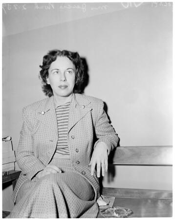 Savoy murder witness, 1959