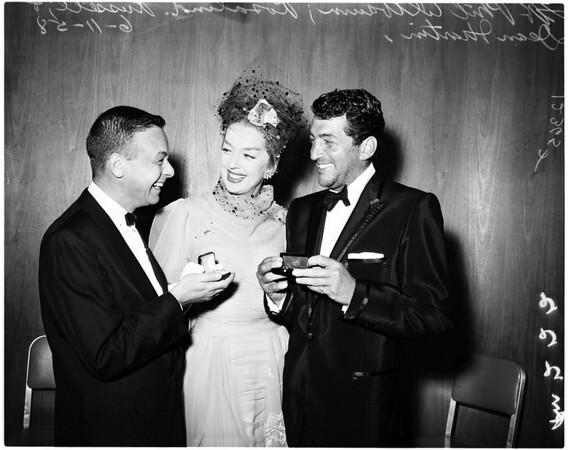 Golden scissors award, 1958