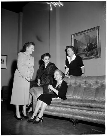 Whittier Women's Club, 1953