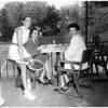 Valley hunt club tennis, 1953
