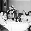 Hotel Bel Air special luncheon, 1958