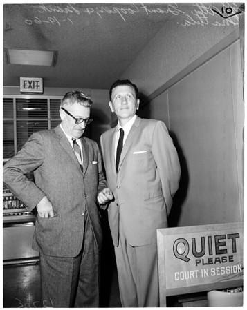 Matula back to jail, 1960