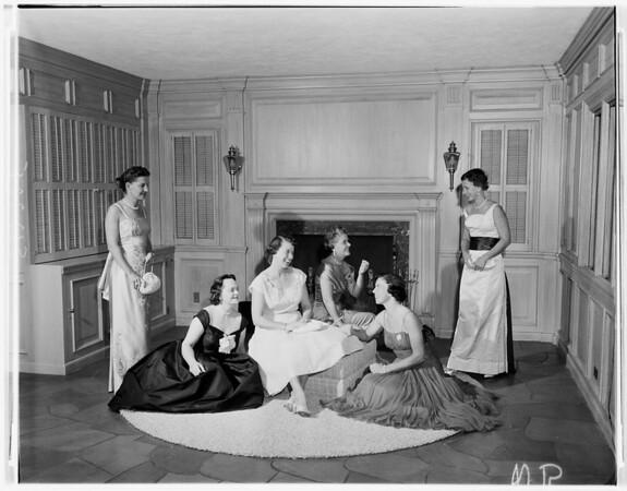 Junior League Ballet Ball, 1957