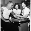 Blood bank, 1952