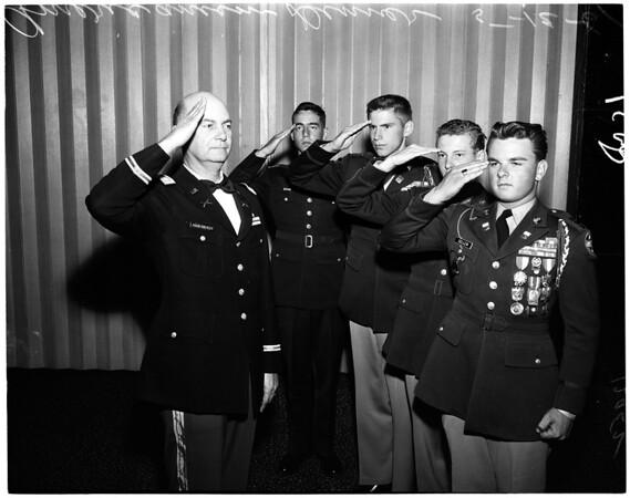 Americanism dinner (ROTC), 1961
