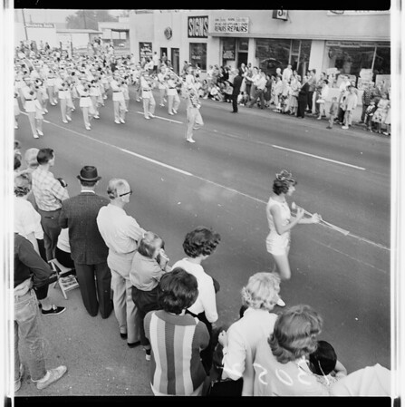 Hawthorne Parade on Veterans Day, 1961