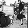 Sunset art exhibit, 1958
