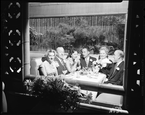 At Kowloon Restaurant (Chinese food), 1958