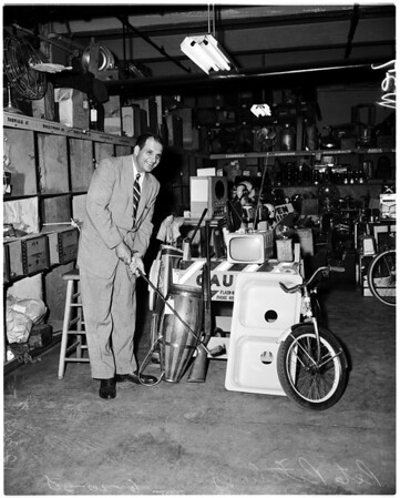 Sheriff's auction, 1958