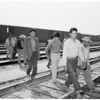 Mexicans -- 2 days in boxcars (Santa Fe yards), 1952