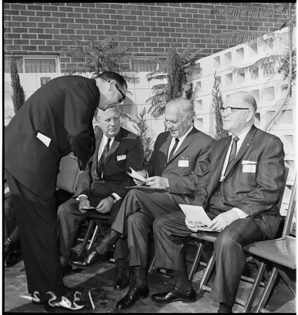 County Employees Association building dedication, 1961