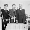 Caltech groundbreaking -- Keck Engineering Building, 1959