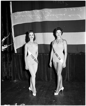 Miss Universe contest (Miss United States semi-finalist), 1958