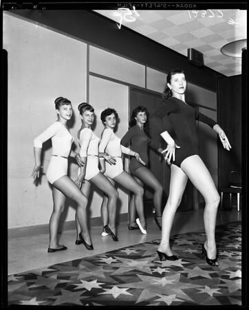 Modern jazz dance convention, 1958