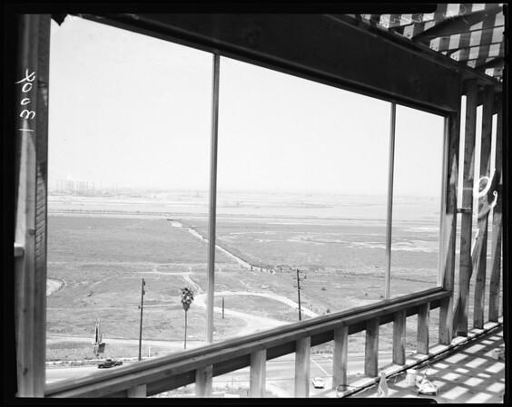 Marina negatives for Jack Keating series, 1961.