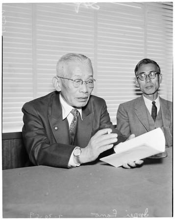 Japan delegation to trade fair, 1959