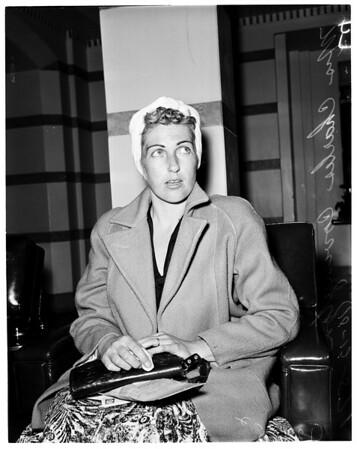 Bar holdup and killing (Woodie and Eddy's bar in San Gabriel), 1957