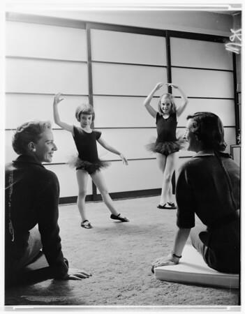 Junior League -- (Little Girls in Ballet), 1957