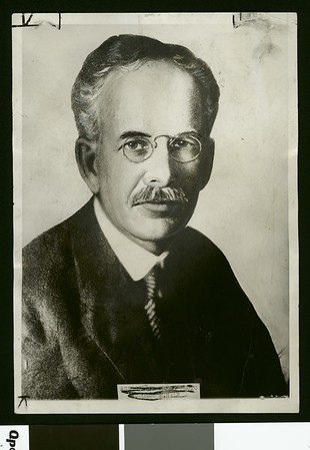 Dr. George Ellery Hale, ca. 1930