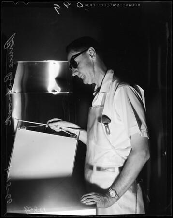 Blind man, 1960