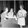 Tennis club, 1953