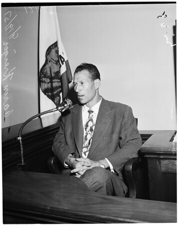 Griffith Park Zoo hearing, 1957