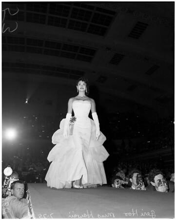 Miss Universe five finalists, 1958
