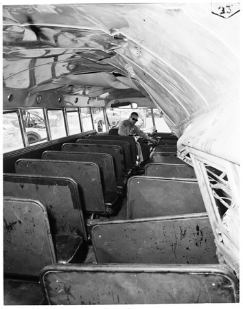 Arcadia bus accident follow up, 1959