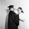 Graduating from Pasadena City College, 1958