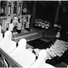 Priests being ordained at Blessed Sacrament Church, 1958