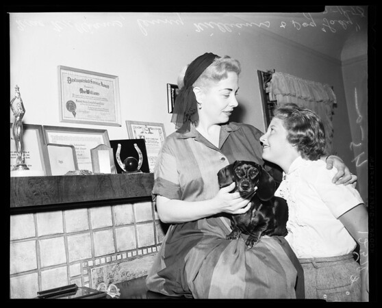 Mae Williams, 1958