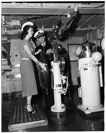 Training ship Golden Bear, 1952