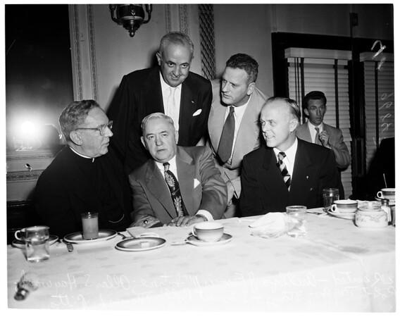 Labor Day Mass (Breakfast), 1952