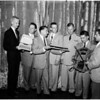 Navy awards (Day in the Navy) contest-writing awards, 1958